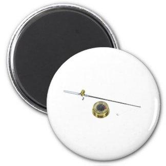 ReadyFishing120709 copy 2 Inch Round Magnet