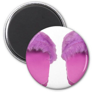 ReadySlippers030310 2 Inch Round Magnet