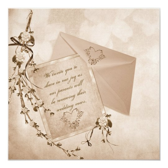 Reaffirmation Of Vows Card