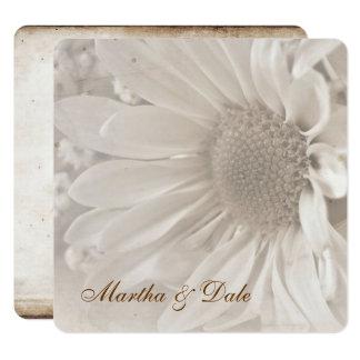Reaffirmation of Vows daisy invitation