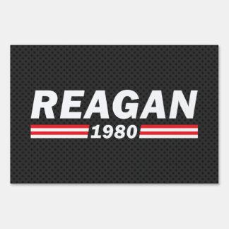 Reagan 1980 (Ronald Reagan) Sign