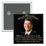 Reagan 2nd Oldest Profession Pinback Buttons