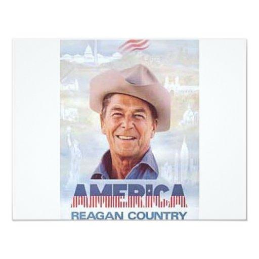 Reagan 4.25x5.5 Paper Invitation Card