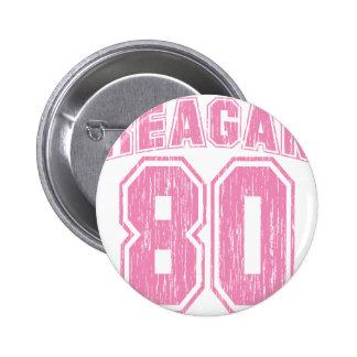 Reagan 80 pinback buttons