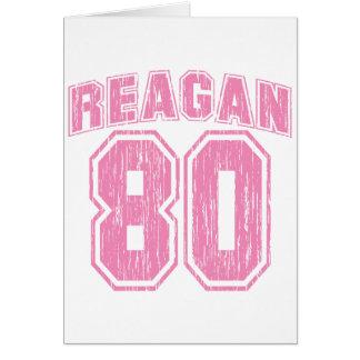 Reagan 80 card