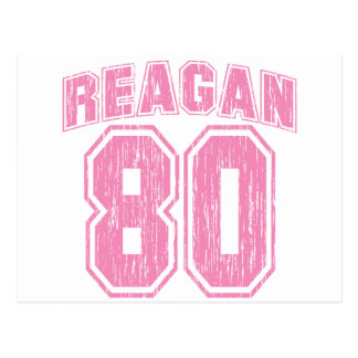 Reagan 80 postcard