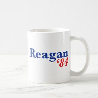 Reagan '84 coffee mugs
