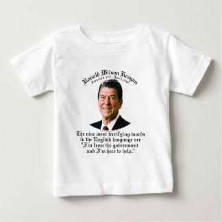 Reagan 9 Terrifying Words Baby T-Shirt