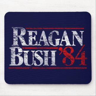 Reagan apenado vintage Bush '84 Mousepad Alfombrilla De Ratones