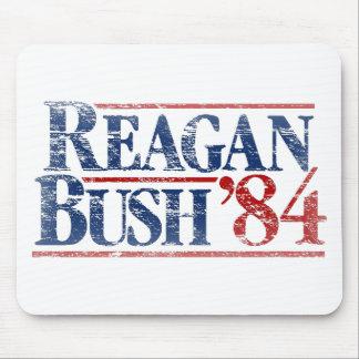 Reagan apenado vintage Bush '84 Mousepad Alfombrillas De Raton