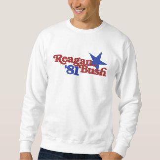 Reagan Bush 1981 Sudadera
