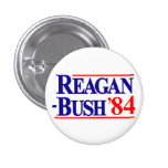 Reagan Bush 1984 Campaign Pin