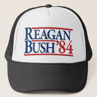 Reagan Bush 84 1984 vintage retro campaign Trucker Hat