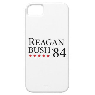 Reagan Bush 84 Black on white 2 iPhone SE/5/5s Case