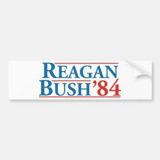 Reagan Bush '84 Bumper Sticker