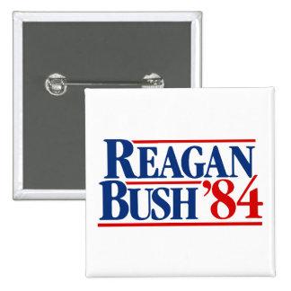 Reagan Bush '84 Campaign Pin