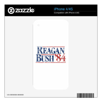 Reagan Bush '84 Campaign Decal For The iPhone 4