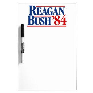 Reagan Bush '84 Campaign Dry-Erase Whiteboards