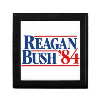 Reagan Bush '84 Campaign Jewelry Box