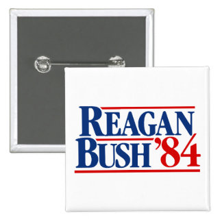 Reagan Bush '84 Campaign Pinback Button