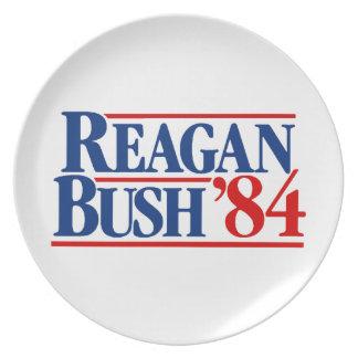 Reagan Bush '84 Campaign Plate