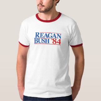 Reagan Bush '84 campaign shirt
