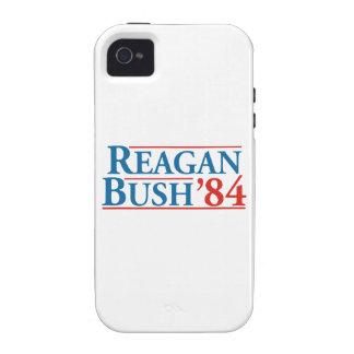 Reagan Bush '84 iPhone 4/4S Cases