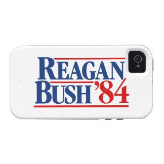 Reagan Bush '84 Vibe iPhone 4 Covers