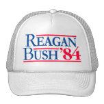 Reagan Bush '84 Election Fratty Republican Trucker Hat