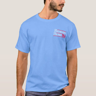 Reagan Bush '84 Fratty Front Pocket Republican T-Shirt