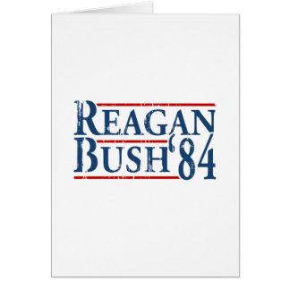 Reagan Bush '84 Greeting Card