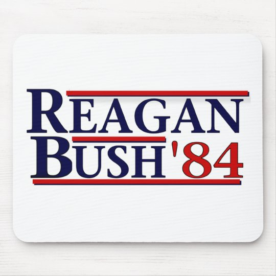 Reagan Bush '84 Mouse Pad
