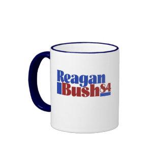 Reagan Bush 84` Ringer Coffee Mug