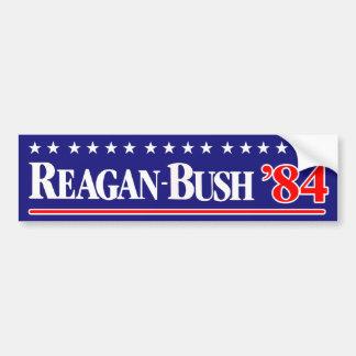 Reagan Bush 84 Pegatina Para Auto