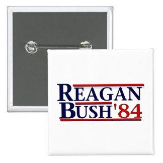 Reagan Bush '84 Pins