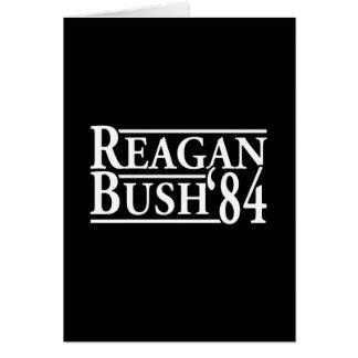 Reagan Bush '84 Stationery Note Card