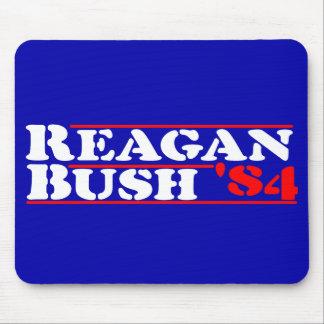 Reagan Bush '84 Stencil Mouse Pad