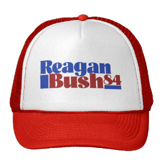 Reagan Bush 84` Trucker Hat