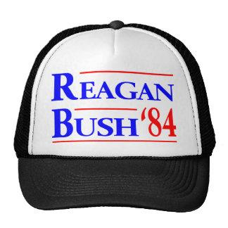 Reagan Bush '84 Trucker Hat