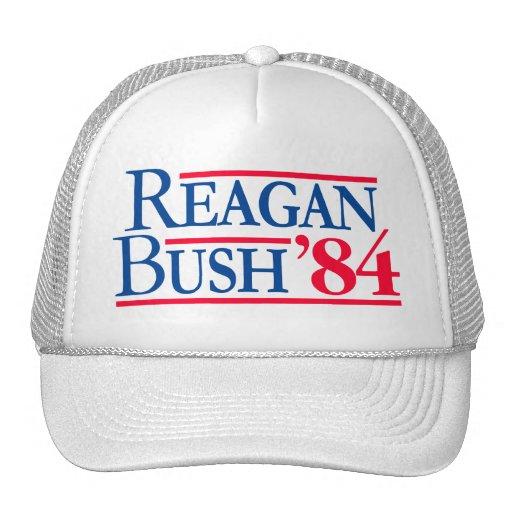 Reagan Bush de 'republicano de Fratty 84 eleccione Gorras