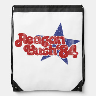 Reagan Bush Drawstring Backpack