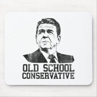 Reagan Bush Old School Conservative vintage tshirt Mouse Pads