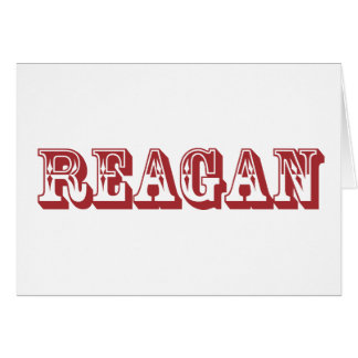 Reagan Card