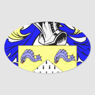 Reagan Coat of Arms Oval Sticker