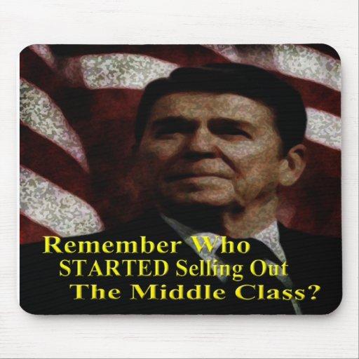 Reagan comenzó mentiras y propaganda alfombrilla de raton
