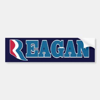 Reagan con la pegatina para el parachoques de Romn Pegatina Para Auto
