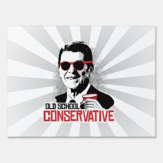 Reagan - conservador de la escuela vieja carteles