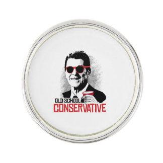 Reagan - conservador de la escuela vieja pin