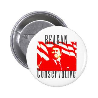 Reagan Conservative Button