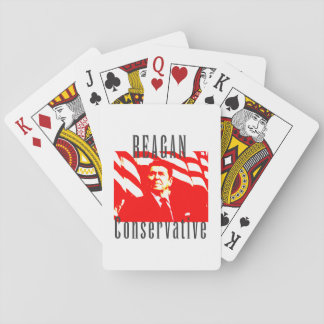 Reagan Conservative Playing Cards